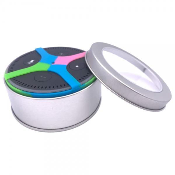 IGIDY 360 Degree Comprehensive Protection Amazon Echo Dot Silicone Case Multicolor