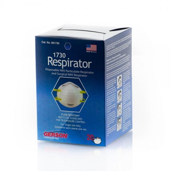 Gerson 1730 NIOSH N95 Particulate Respirator