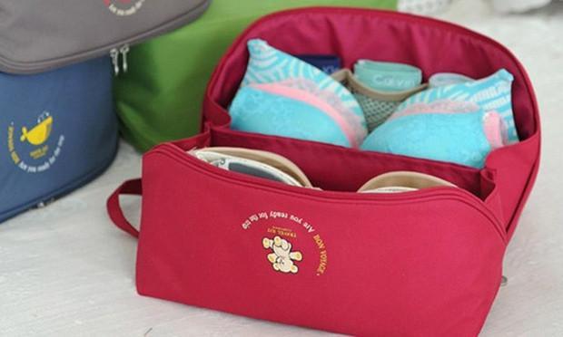 Water-Repellent Undergarment Travel Organiser