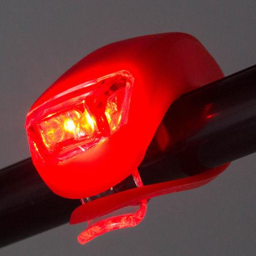 LED Bike Flashers with 3 Lighting Functions (Set of 2)