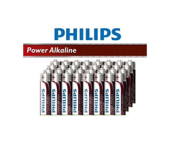 12 Pack Philips PowerLife Alkaline AA/AAA