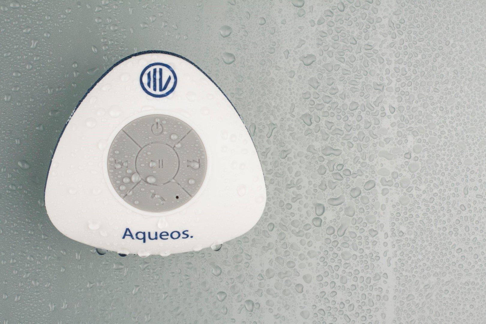 iiVO Waterproof Bluetooth Suction Shower Speaker